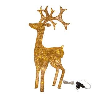 Glitzhome LED Reindeer String Lights
