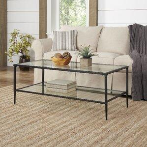 Harlan Double Shelf Coffee Table by Birch La..