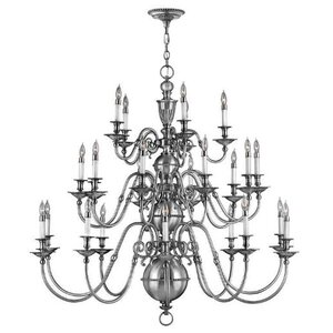 Cambridge 25-Light Candle-Style Chandelier