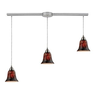 Cayton 3-Light Cluster Pendant by Red Barrel Studio