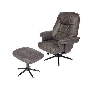 Aidanjohn Swivel Lounge Chair and Ottoman by Latitude Run