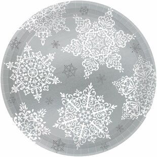 Christmas Shining Season Paper Appetizer Plate (Set of 240)