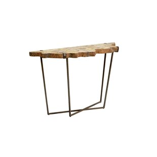 Wildwood Fossil Console Table