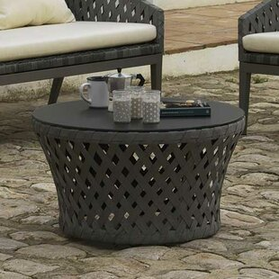 Priceville Ribbon And Aluminium Coffee Table By Sol 72 Outdoor