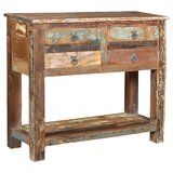 Desirae 4 Drawer Console Table by Bloomsbury Market