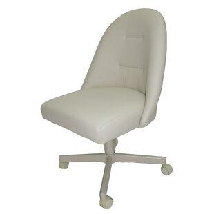 Winston Porter Wellow Swivel Upholstered Dining Chair