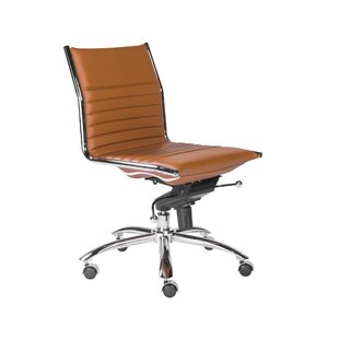 Wade Logan Westernport Armless Low Back Bungee Office Chair