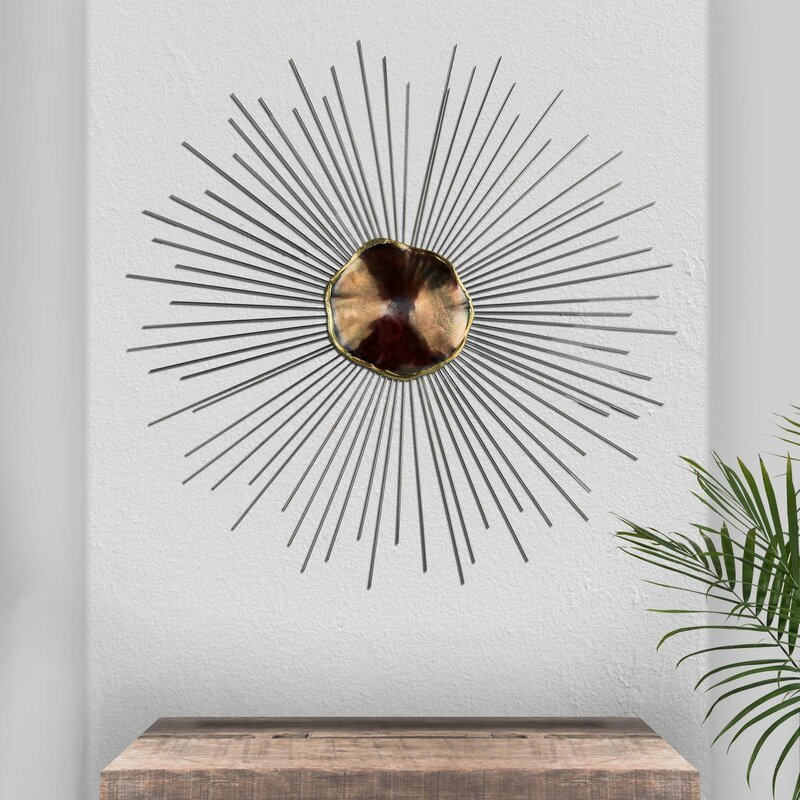 Abstract Starburst Wall Décor