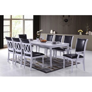 Ximena Modern 9 Piece Dining Set