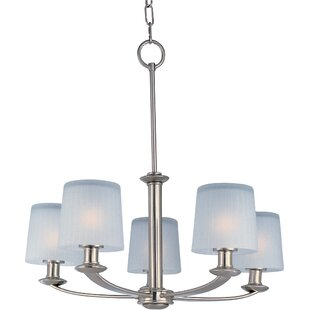 Wendell 5-Light Shaded Chandelier by Latitude Run