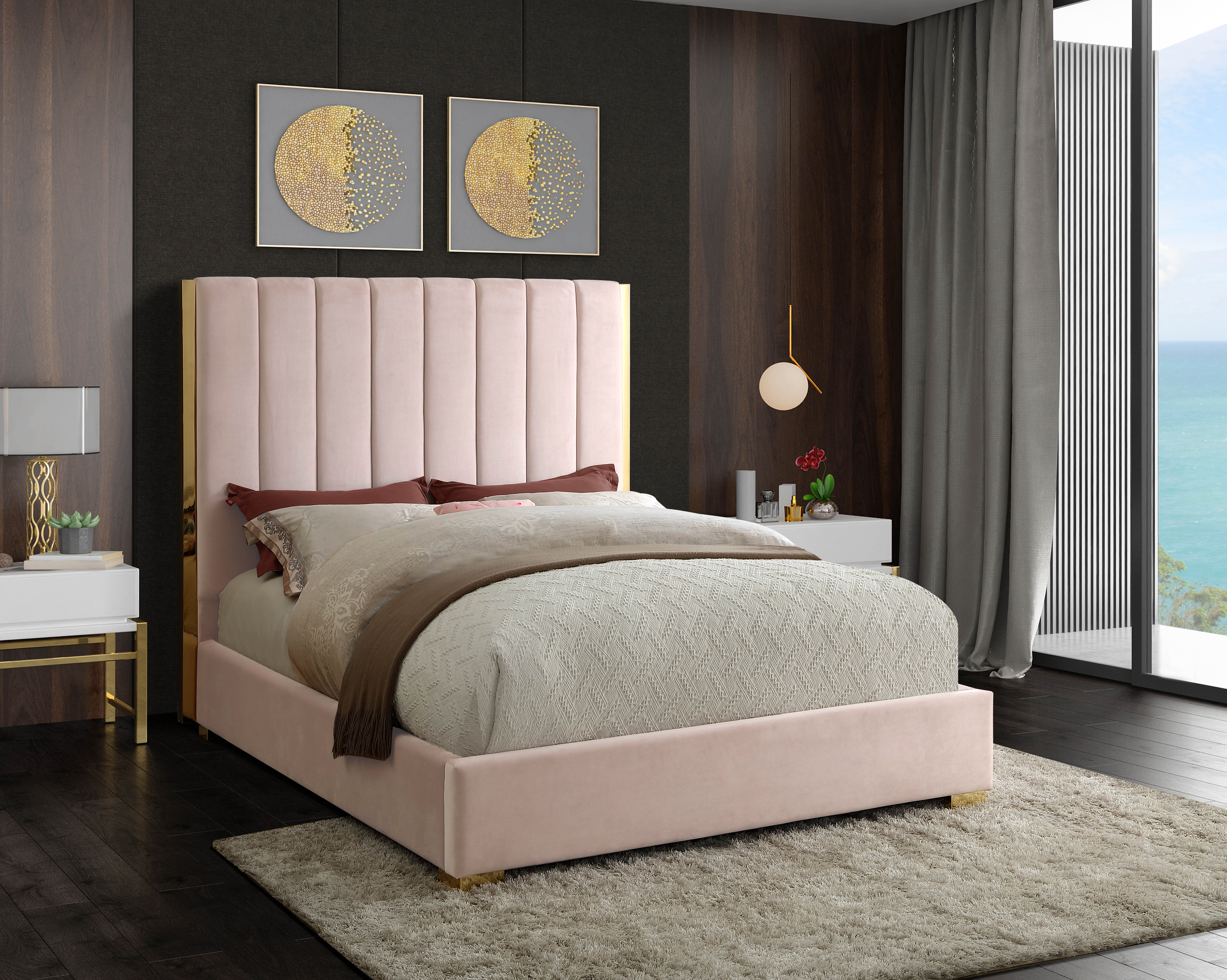 Velvet Beds You Ll Love In 2021 Wayfair