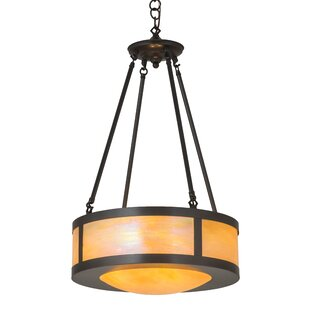 Meyda Tiffany Arts and Crafts 4-Light Pendant