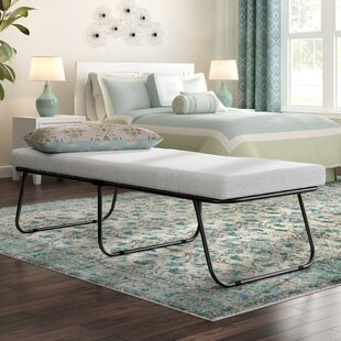 Easy Folding Guest Bed with Mattress by Symple Stuff