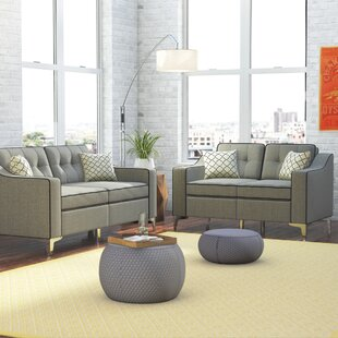 Fleek 2 Piece Living Room Set by Ebern Designs