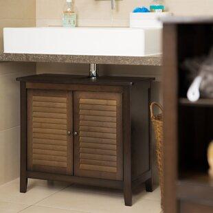 Jasper Bamboo Under Sink 67 X 60cm Under Sink Cabinet By Longshore Tides