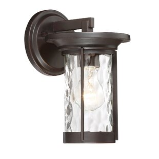 Great Price Campagna Outdoor Wall Lantern By Alcott Hill