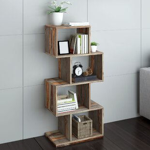 Geometric Bookcase By Union Rustic