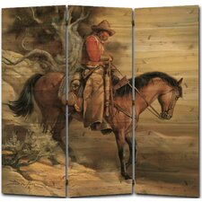 55 x 55 Long Road Home 3 Panel Room Divider by WGI-GALLERY