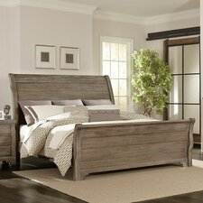Brookhill Sleigh Bed by Darby Home Co