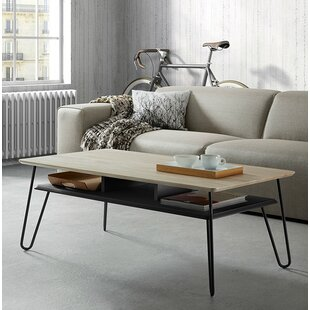Thornell Coffee Table with Storage by Wrought Studio