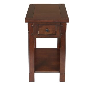 Brinkman End Table by Charlton Home