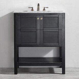 30 Inch Bathroom Vanities You'll | Wayfair  In Bathroom Vanity on espresso vanity in bathroom, vanity desk in bathroom, vanity set in bathroom, double sink vanity in bathroom,