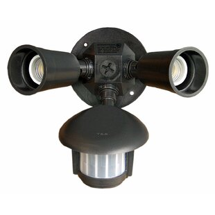 Motion Activated Lights Outdoor Security Spot Light with Motion Sensor by Morris Products