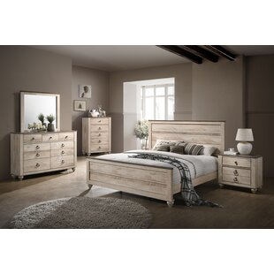 manzano panel 4 piece bedroom set set of 4 - Furniture Set For Bedroom