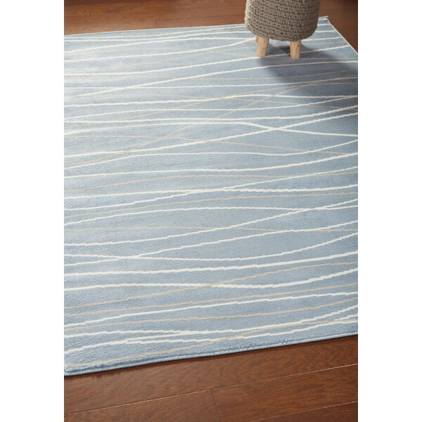 Orren Ellis Ky Abstract Teal Area Rug Reviews