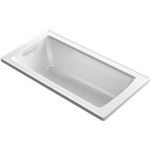 Kohler Archer Drop-in VibrAcoustic® Bath..