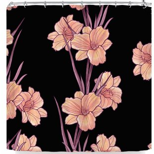 Victoria Krupp Good Night Floral Single Shower Curtain