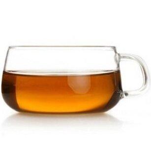 Teaology Farfalle Borosilicate Glass Cup