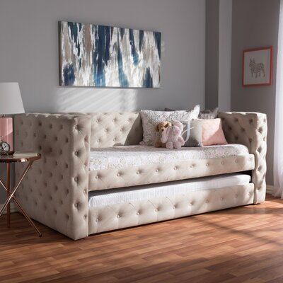 Leavens Twin Daybed with Trundle