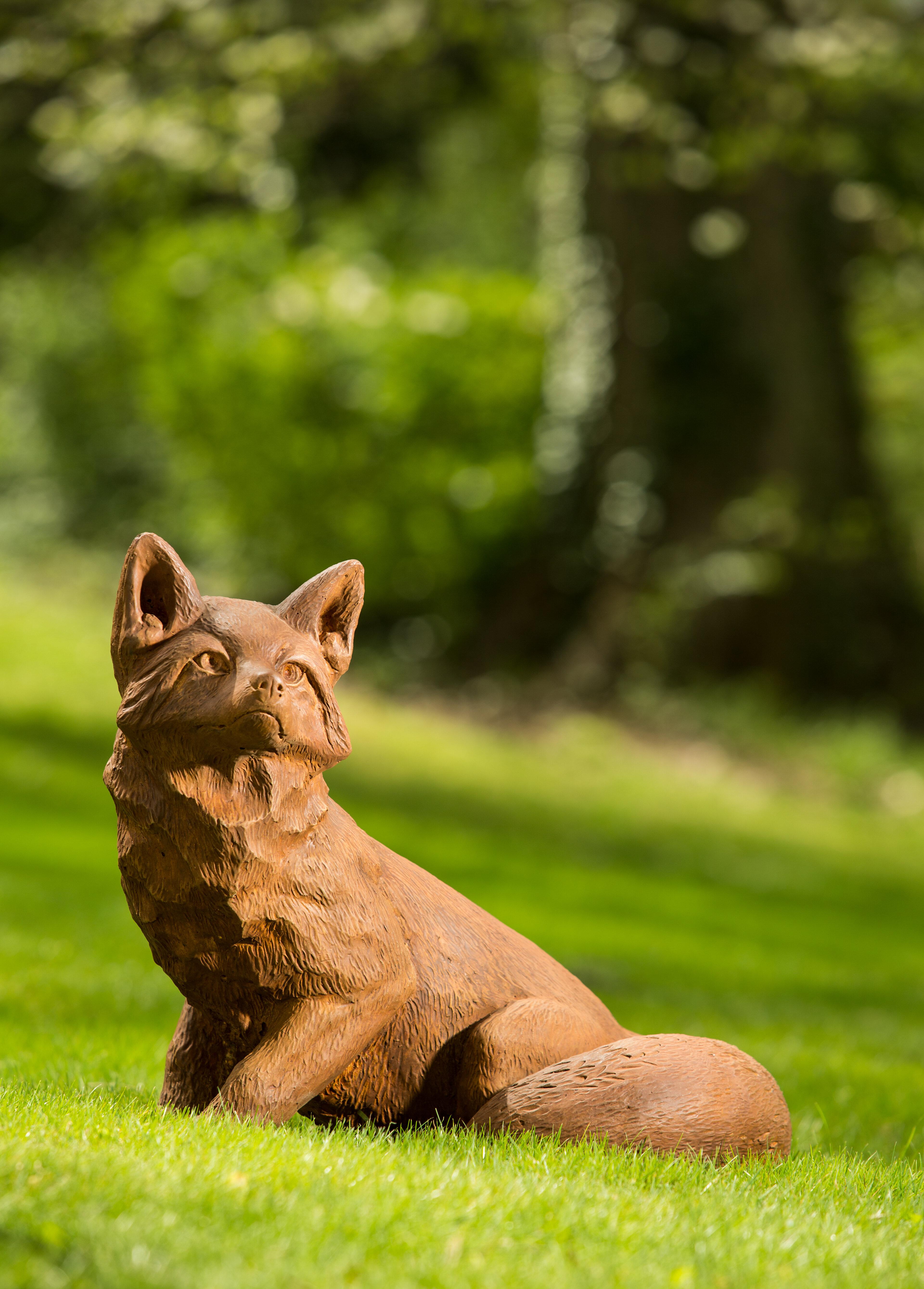 Campania International Inc Noble Fox Statue Wayfair