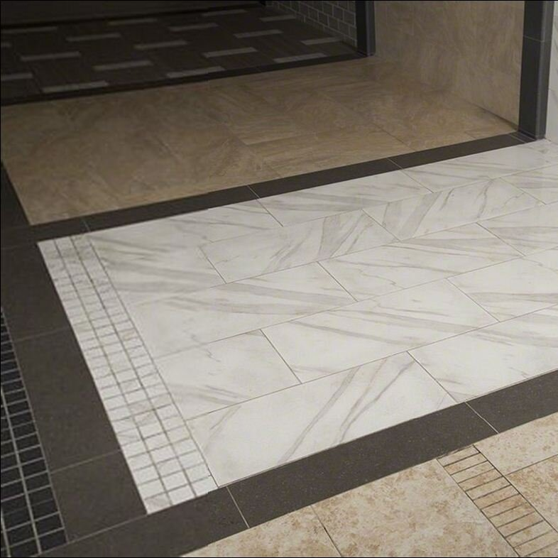 Msi Pietra Calacatta 2 X 2 Porcelain Mosaic Tile In White