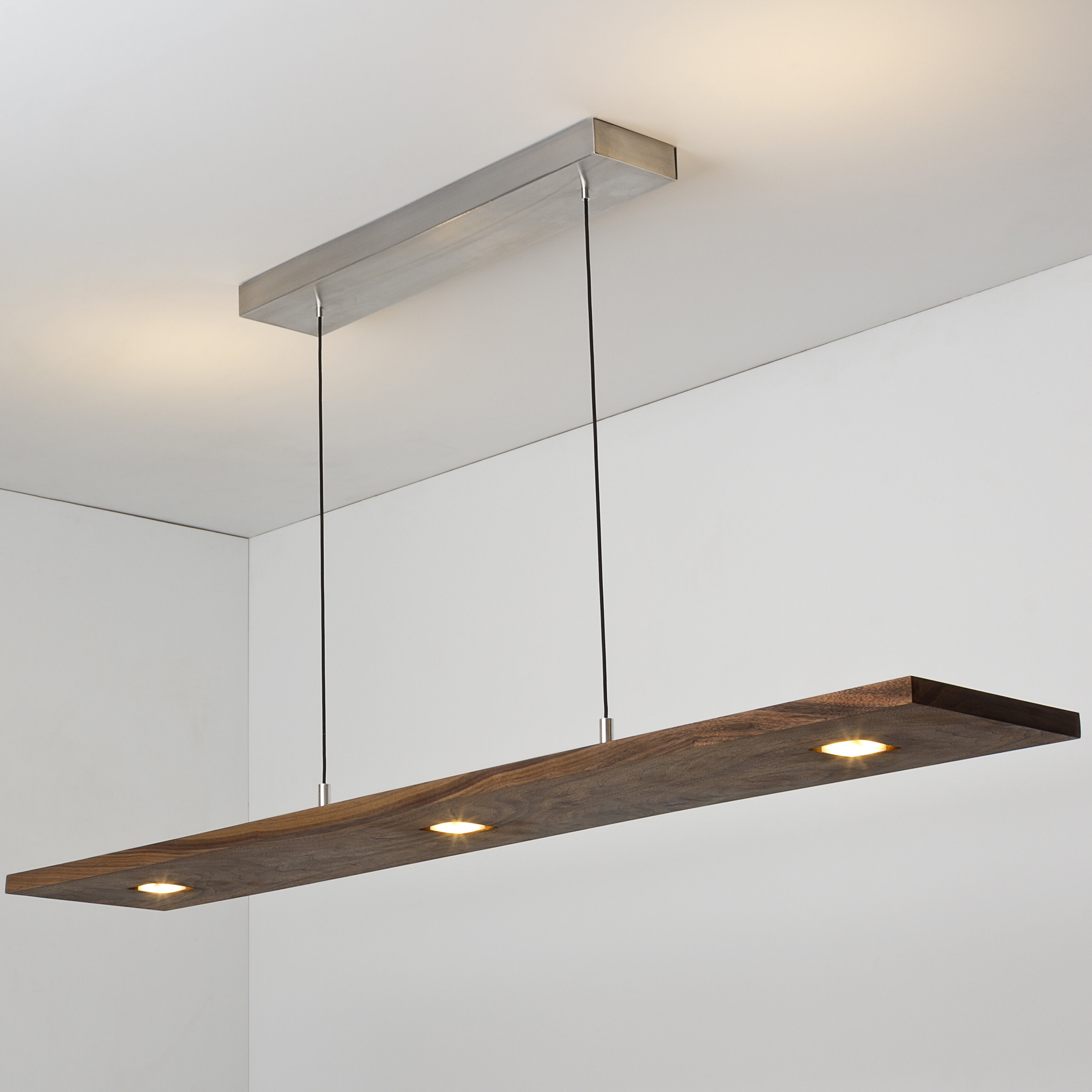 Cerno Vix 5 Light Kitchen Island Linear Pendant With Wood Accents Reviews Wayfair