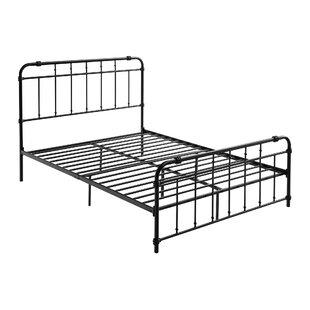Lisbeth Metal Bed Frame by Alwyn Home