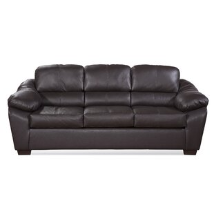Serta The Pinery Leather Sofa