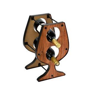 Davisboro 2 Bottle Tabletop Wine Rack By Williston Forge