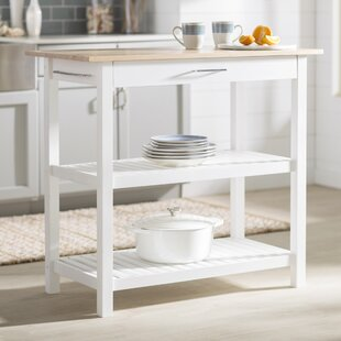2 Tier Kitchen Island | Wayfair