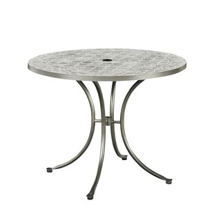 Home Styles Umbria Concrete Tile Dining Table