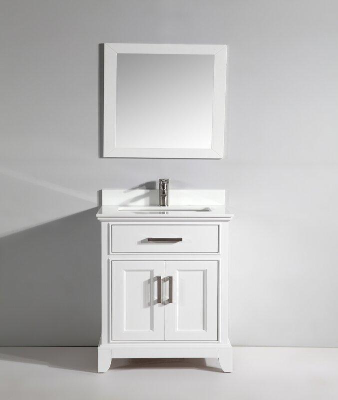 """Bathroom Mirrors Phoenix vanity art phoenix stone 30"""" single bathroom vanity with mirror"""