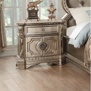 Leanos 1 Drawer Nightstand
