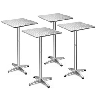 Sitton Folding Dining Table (Set of 4)