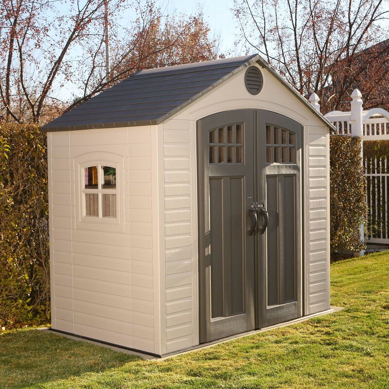 8 in w x 4 ft 8 in d plastic - Garden Sheds 8 X 4