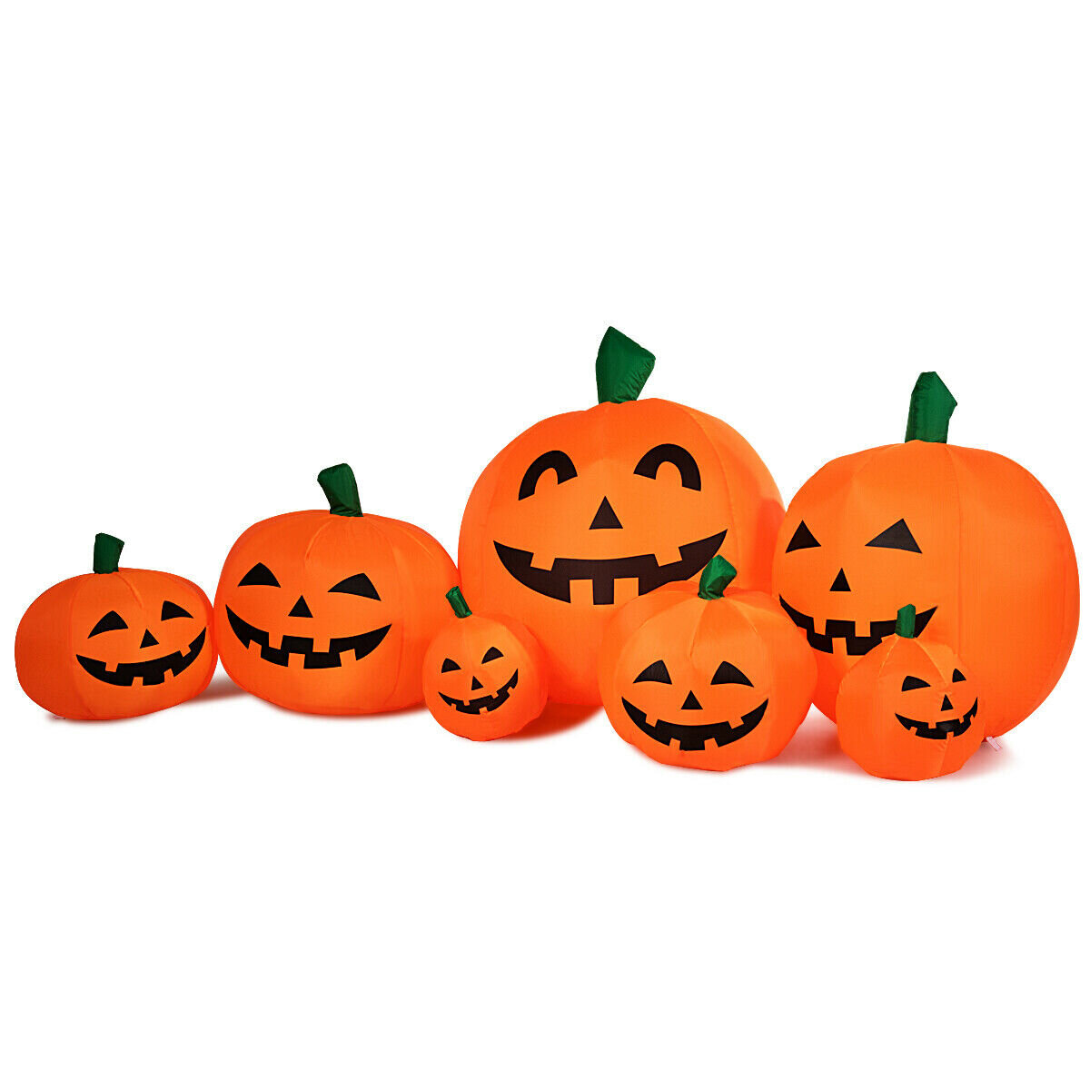 The Holiday Aisle Pumpkins 7 Piece Inflatable Set Wayfair