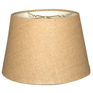 Tapered 18 Burlap Empire Lamp Shade