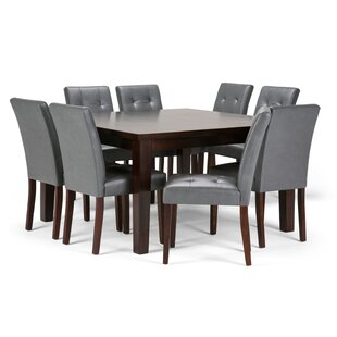 Washtenaw 9 Piece Solid Wood Dining Set