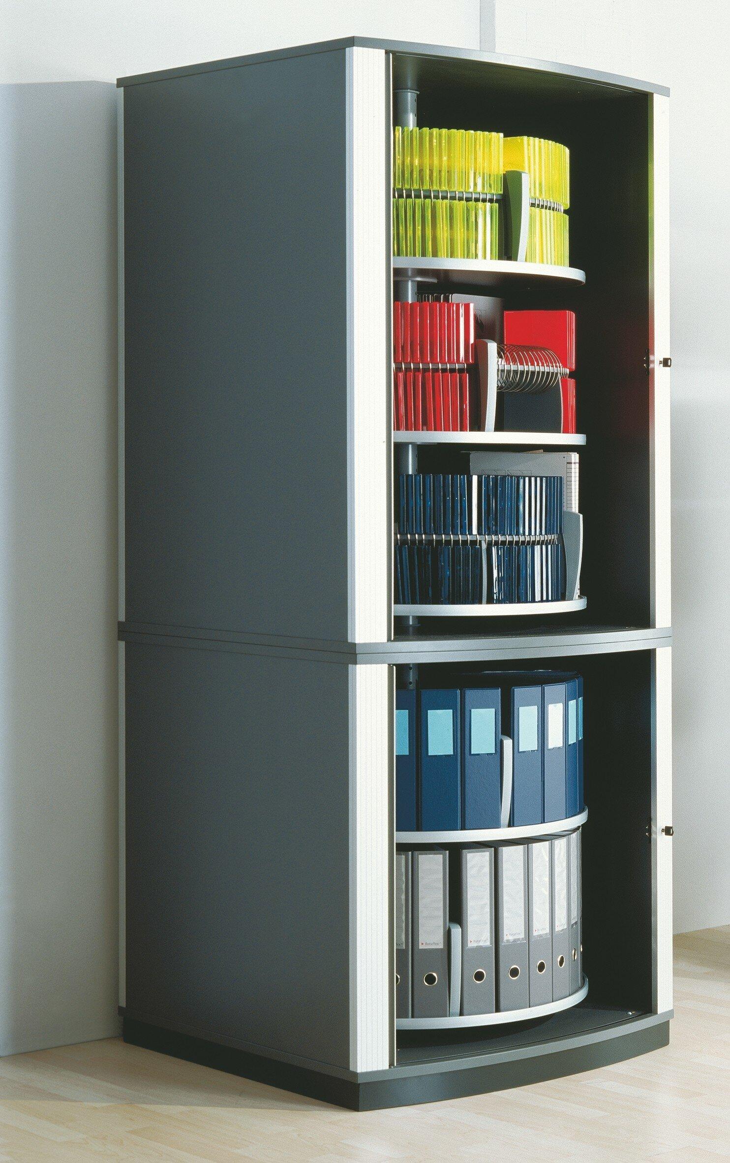 Moll 85 H X 36 W X 36 D Lockfile Binder And File Carousel Cabinet 5 Shelves Shelving Unit Wayfair