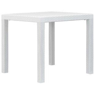 Baar Plastic Dining Table By Sol 72 Outdoor
